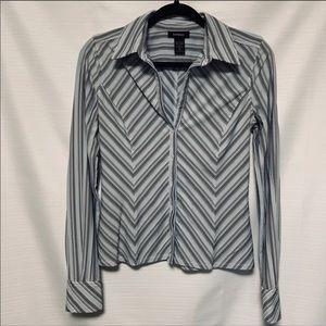 4 for $25 Express long sleeve button down shirt